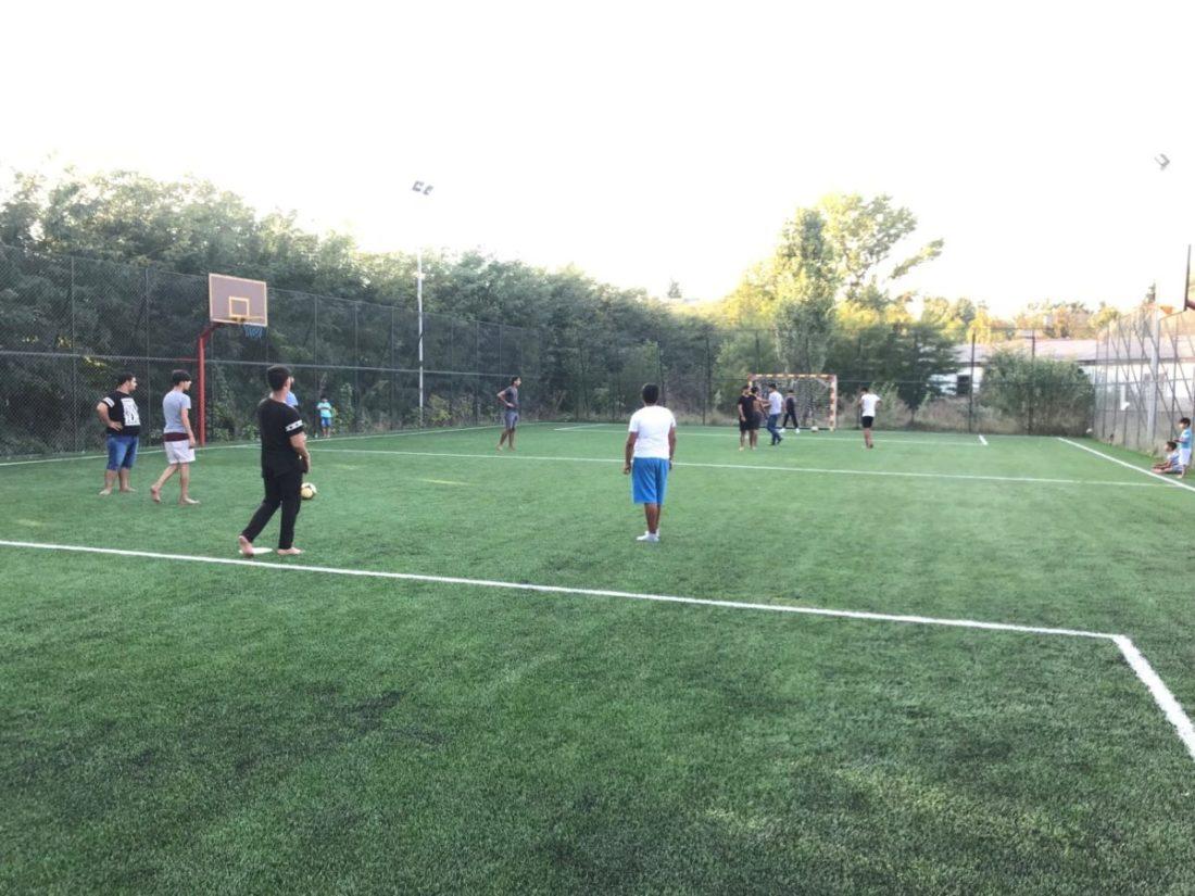 Sportsko teren muklo ko ikerkeripe e Romenge ko Madjari